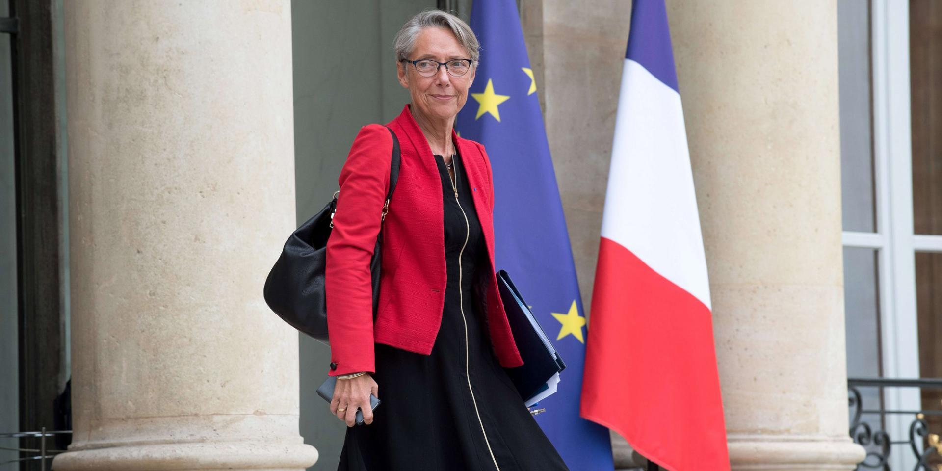 La ministre elisabeth borne sat 31